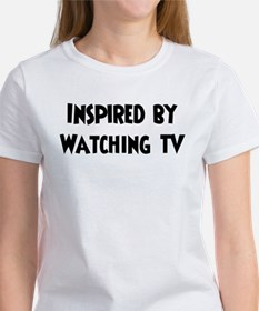 Inspired by Watching TV Tee