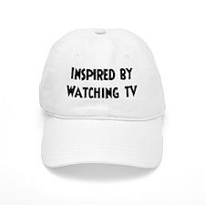 Inspired by Watching TV Baseball Cap