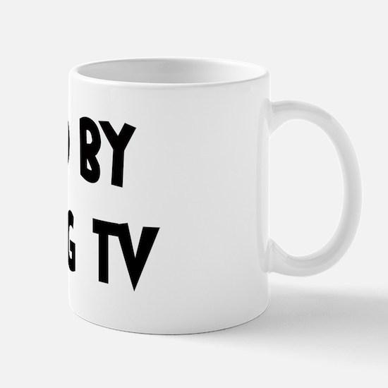 Inspired by Watching TV Mug