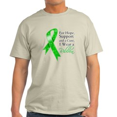 Hope Cure Green Ribbon Light T-Shirt