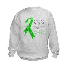 Hope Cure Green Ribbon Sweatshirt