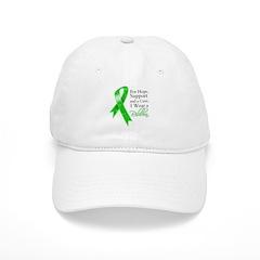 Hope Cure Green Ribbon Baseball Cap