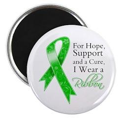 Hope Cure Green Ribbon Magnet