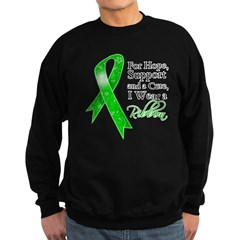 Hope Cure Green Ribbon Sweatshirt