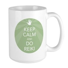 Keep Calm and Do Reiki Mug