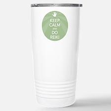 Keep Calm and Do Reiki Travel Mug