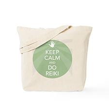 Keep Calm and Do Reiki Tote Bag