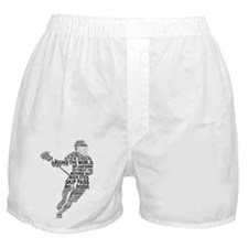 Lacrosse LAX Player Boxer Shorts