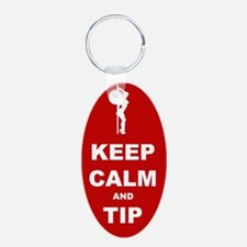 Keychains Keep Calm and Tip