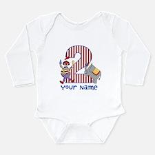 2nd Birthday Circus Long Sleeve Infant Bodysuit