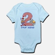 2nd Birthday Circus Infant Bodysuit
