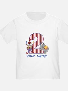 2nd Birthday Circus T