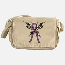 Tribal Butterfly Messenger Bag