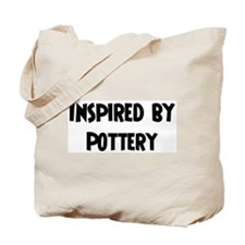 Inspired by Pottery Tote Bag