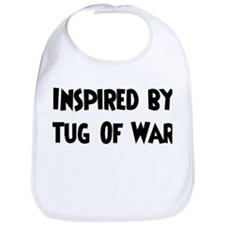 Inspired by Tug Of War Bib