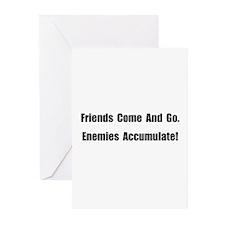 Enemies Accumulate Greeting Cards (Pk of 20)