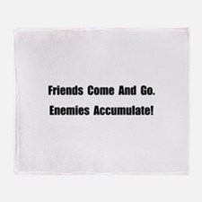 Enemies Accumulate Throw Blanket