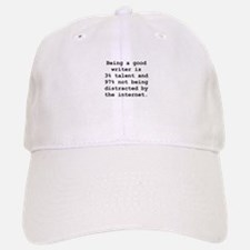 Good Writer Baseball Baseball Cap
