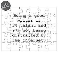 Good Writer Puzzle
