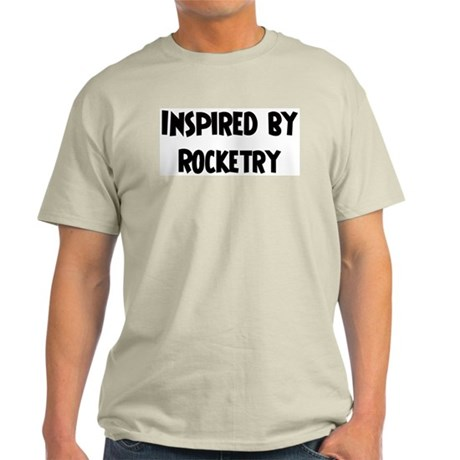 Inspired by Rocketry Ash Grey T-Shirt