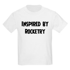 Inspired by Rocketry Kids T-Shirt