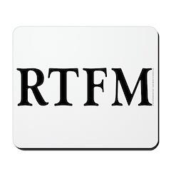 RTFM - Mousepad