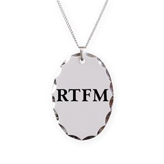 RTFM - Necklace