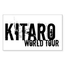 LIMITED EDITION ! WORLD TOUR Rectangle Decal