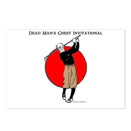 Dead Mans Chest Invitational Postcards (Package of