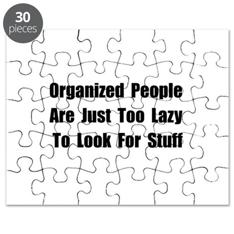 Organized People Puzzle