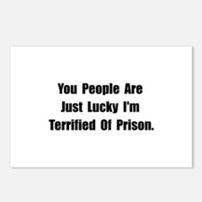 Prison Postcards (Package of 8)