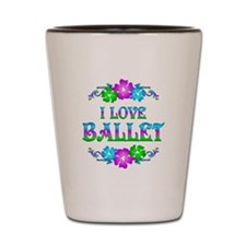 Ballet Love Shot Glass