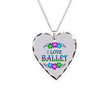 Ballet Love Necklace