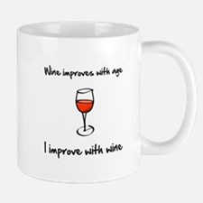 Wine Improves Mug