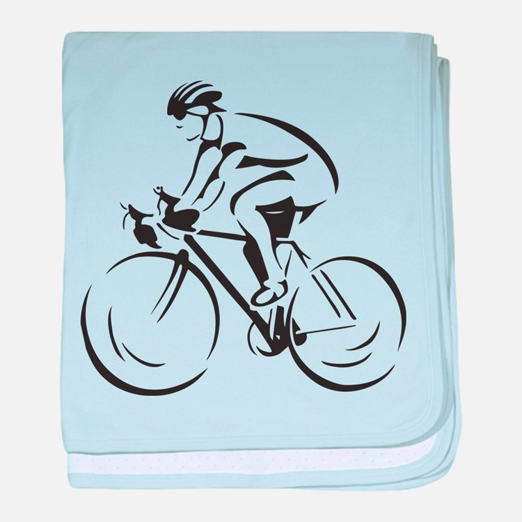 Bicycling baby blanket