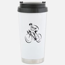 Bicycling Travel Mug