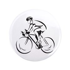 "Bicycling 3.5"" Button"