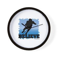 Believe (football) Wall Clock