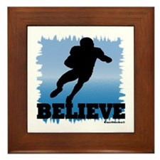 Believe (football) Framed Tile