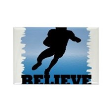 Believe (football) Rectangle Magnet (10 pack)