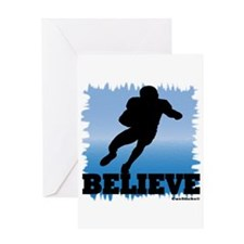 Believe (football) Greeting Card