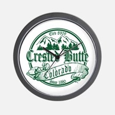Crested Butte Canterbury Wall Clock