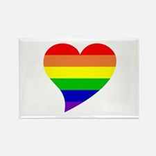 Rainbow Love Rectangle Magnet (10 pack)