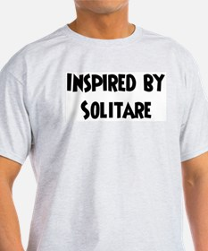Inspired by Solitare Ash Grey T-Shirt