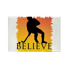 Believe (Hockey) Rectangle Magnet