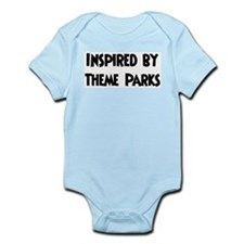 Inspired by Theme Parks Infant Creeper
