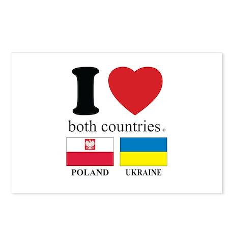 POLAND-UKRAINE Postcards (Package of 8)