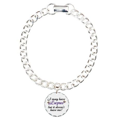 I May Have Lupus Charm Bracelet, One Charm