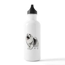 Keeshond Water Bottle
