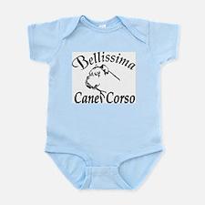 Bellissima Cane Corsos Infant Bodysuit